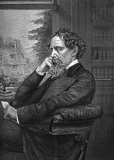 A picture of the author Charles Dickens