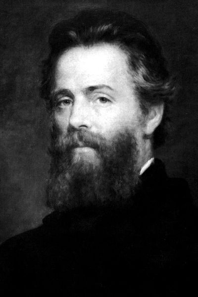A picture of the author Herman Melville