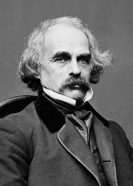 A picture of the author Nathaniel Hawthorne