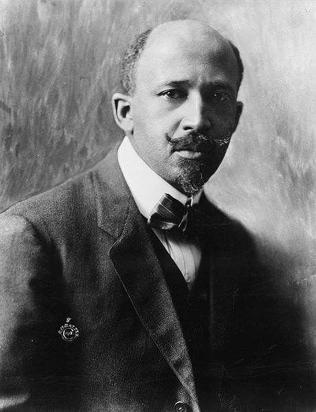 A picture of the author W.E.B Du Bois