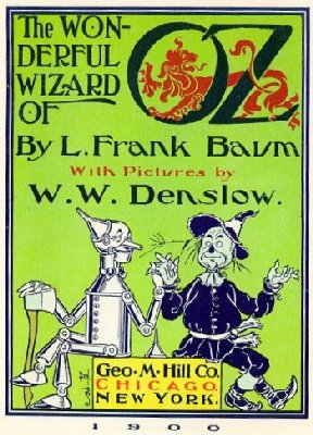 A picture for the book The Wonderful Wizard of Oz